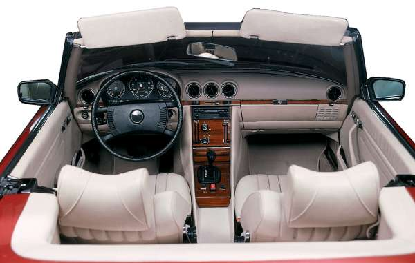 Mercedes benz sl class 1972 1989 r107 c107 heater for Mercedes benz interior parts online