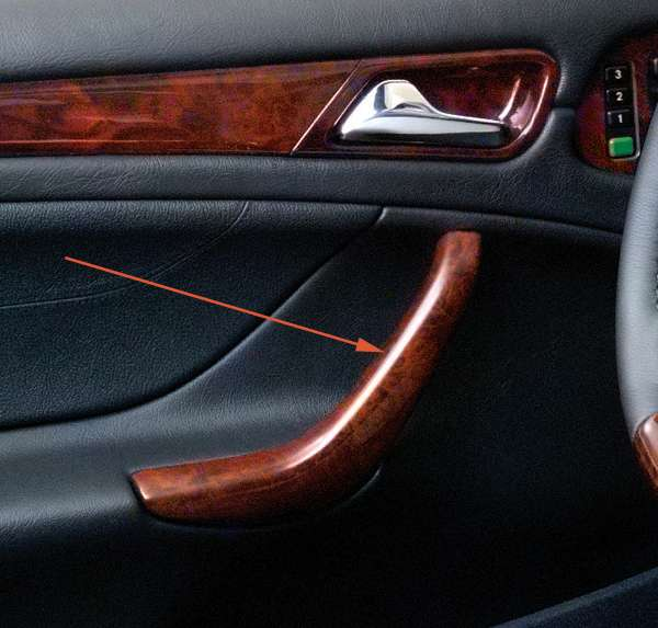 2002 mercedes benz clk430 base convertible panels for Mercedes benz interior parts online