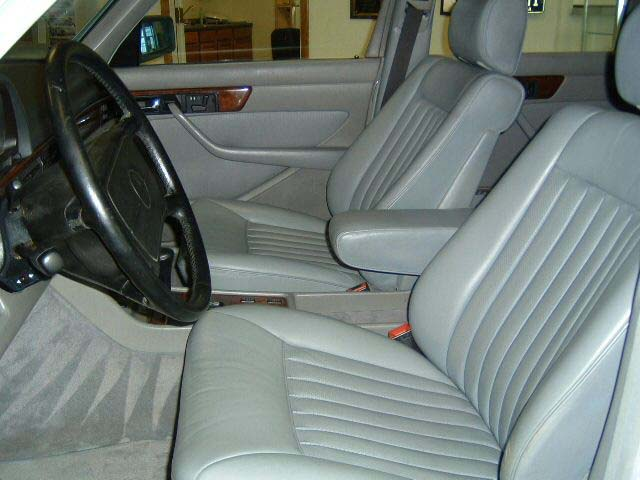 Mercedes benz s class 1981 1991 w126 seats belts for Mercedes benz car seat covers sale