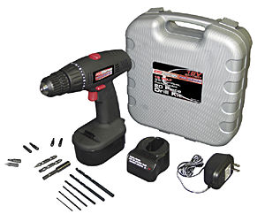 ToolCritic: Coleman PMD8129 Cordless Rechargeable Drill Kit (2