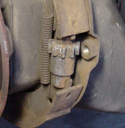 Diy Parking Brake Adjustment 2008 14