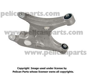 Arm Bushing for the Rear Lower Control Arm 33326755471 Febest For Bmw