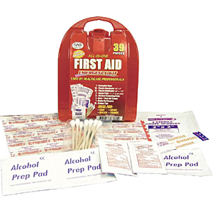 First Aid Kits and Safety Equipment