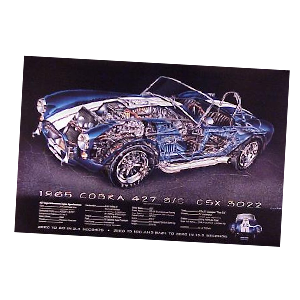 Ford Cut-Away Posters