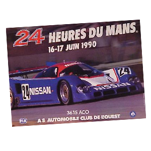 Le Mans Racing Posters