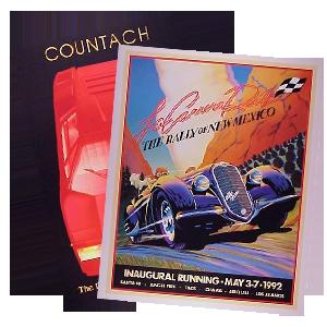 Italian Car Posters