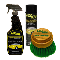 Raggtopp Convertible Car Care Products