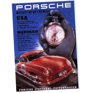 Factory Reproduction Porsche Racing Posters
