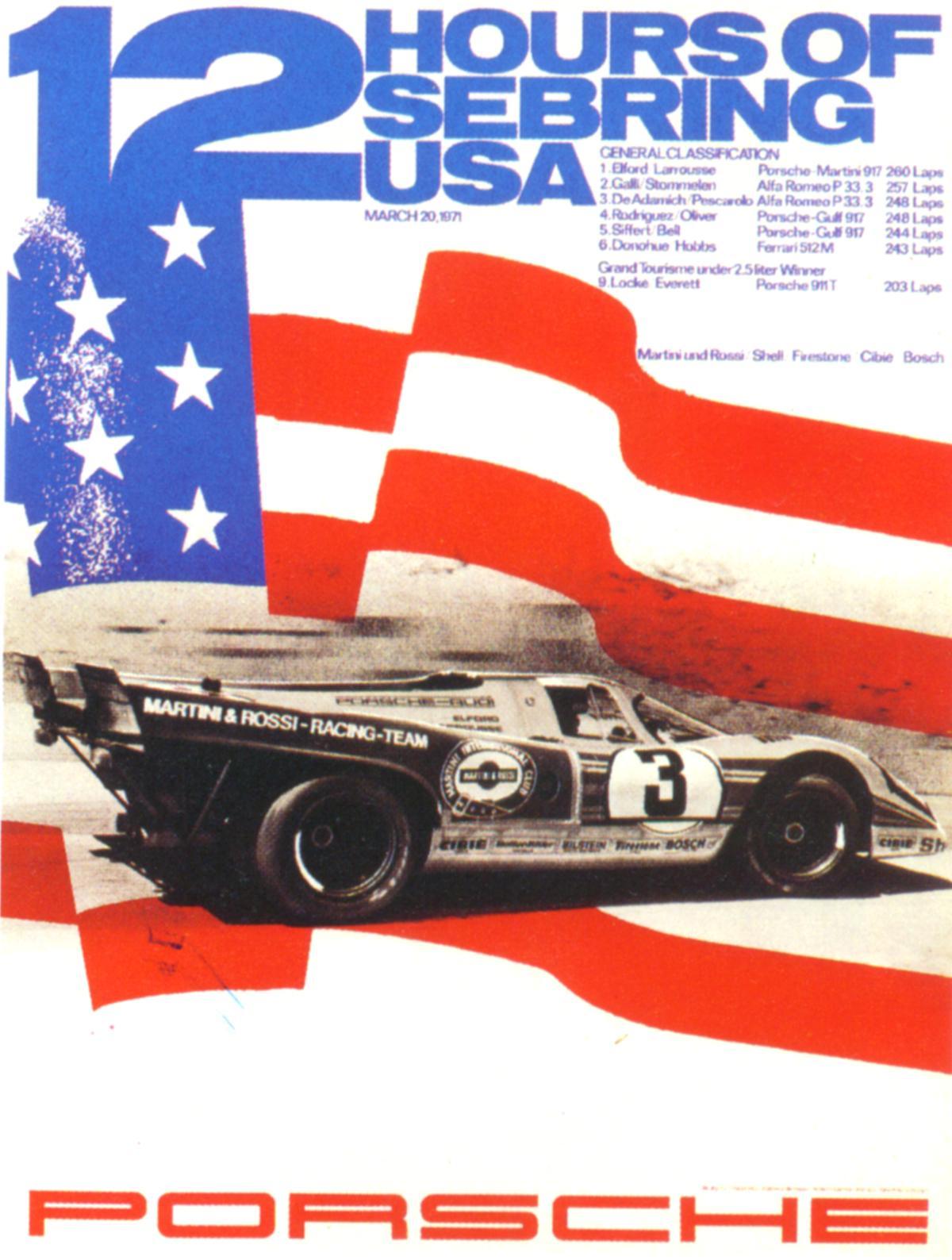 Pelican Parts: Vintage Porsche Racing Posters