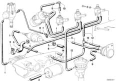 Vacuum Hose 11747797082 - Genuine BMW - 11-74-7-797-082 | Pelican ...