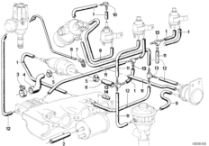 E39 Fuel Filter also 32411094951 Bmw Power Steering Hose Cooling Coil together with Bmw 323ci Engine Diagram furthermore Bmw E46 Vacuum Diagram moreover 92 Chevy 350 Engine Diagram. on bmw 323i parts diagram