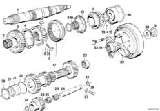E30 M20 Engine Diagram furthermore Bmw E34 525i Manual Transmission Diagrams further Bmw E34 525i Manual Transmission Diagrams in addition Bmw 325 Engine Head also  on wiring diagram bmw e34 m50