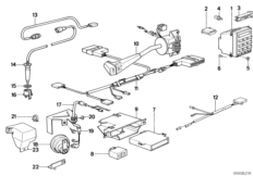 E32 Fuse Diagram in addition Wiring Diagram Parts List Bmw 335xi as well E28 Engine Diagram in addition Bmw M5 Track moreover Fuel Tank Breather Valve. on bmw 735i engine diagram