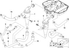 11 61 1 312 762 M9 further 1997 Bmw M5 Engine moreover Bmw X6 Air Filter additionally 1998 Bmw 328i Diagram also E34 Serpentine Belt Routing Diagram. on bmw 540i engine parts diagram