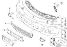 E46 M3 Body Trim on bmw e46 tail light wiring diagram