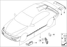bmw e46 front fender with 51118195296 on Bmw E46 Engine Cutaway in addition Bmw 330i Wiring Diagram as well 51118195296 together with