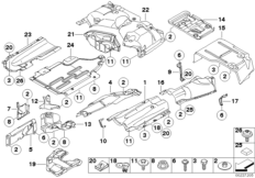 bmw e46 bumper parts diagram  bmw  auto wiring diagram