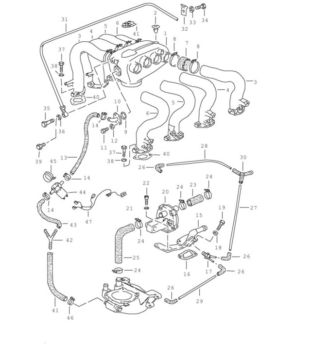 T34y  Diagram  1985 Audi 5000 System Wiring Diagram Full Version Hd Quality Wiring Diagram