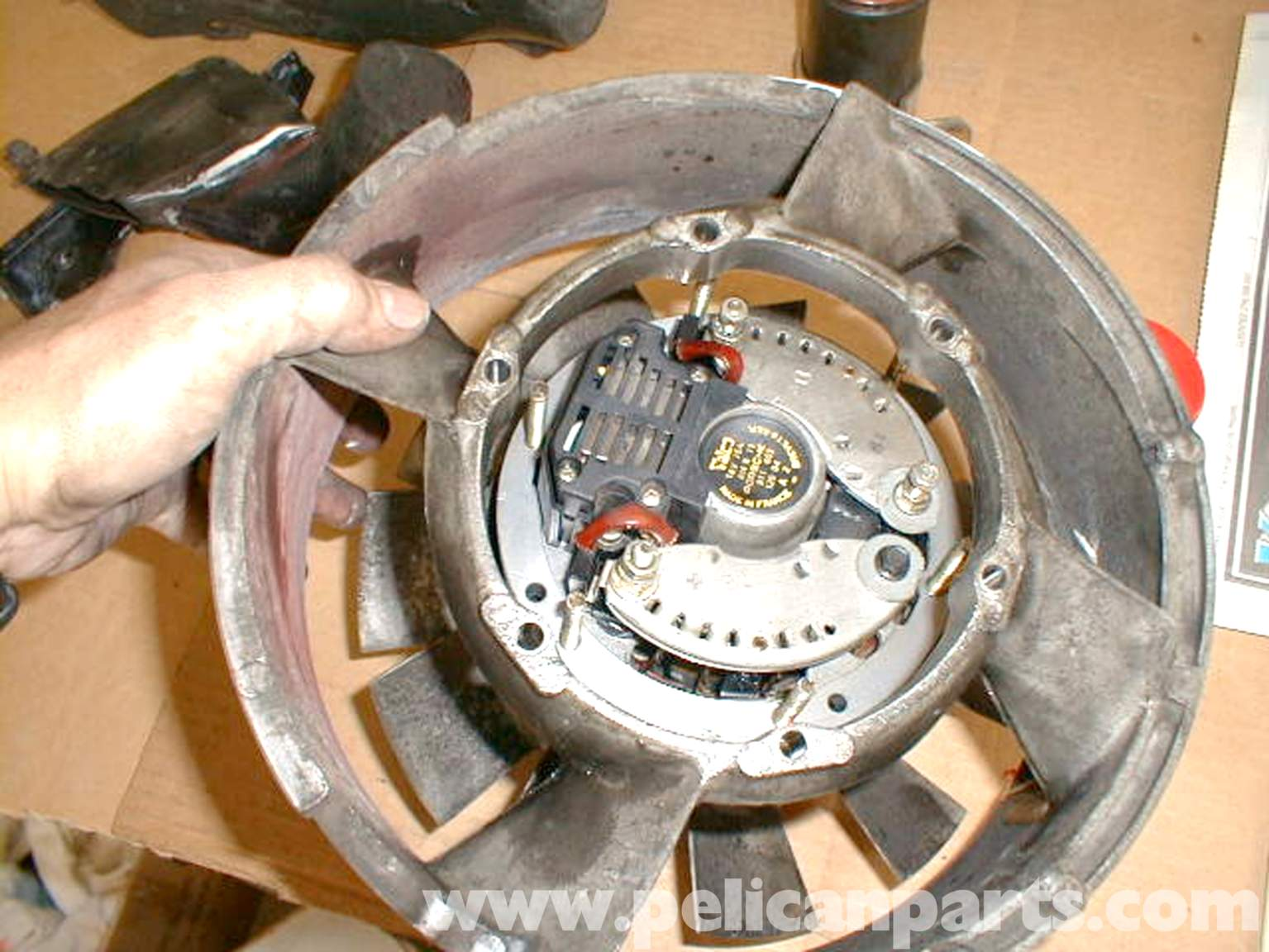 porsche 911 alternator troubleshooting and replacement 911 1965 89 930 turbo 1975 89