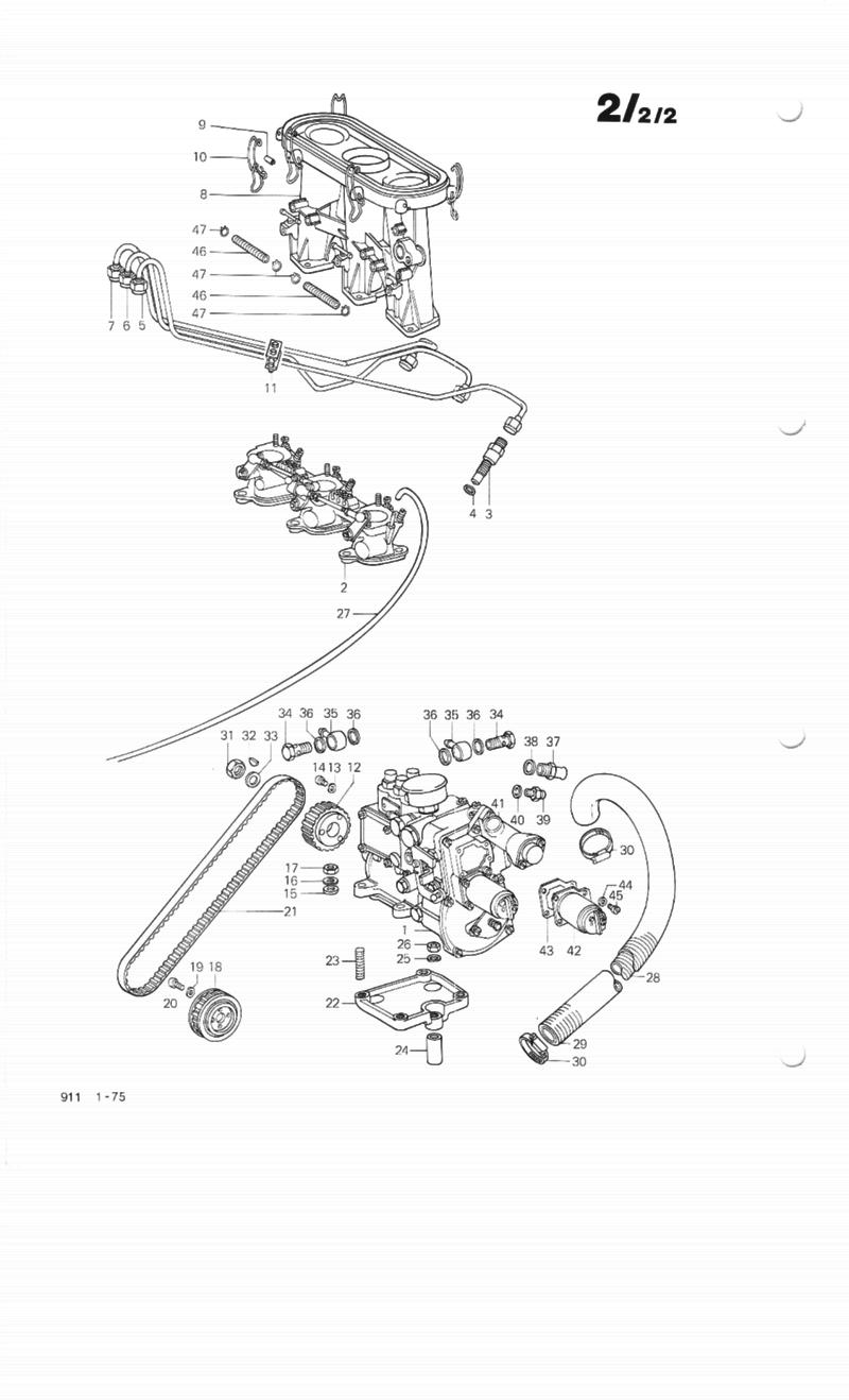 Ultimate Mfi Resources Thread Pelican Parts Forums 1983 Porsche 911 Wiring Diagram System