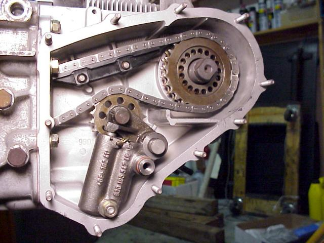 how to set timing chain tensioner on a yamaha sr250