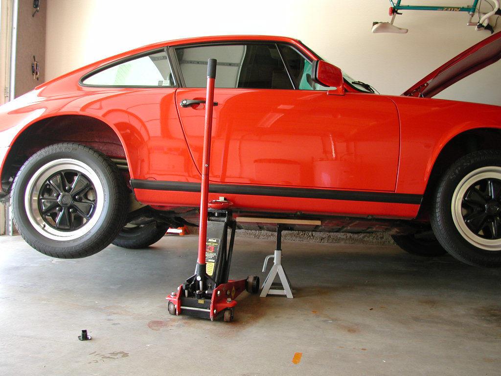 Porsche 911 Starter Installation 911 1965 89 930
