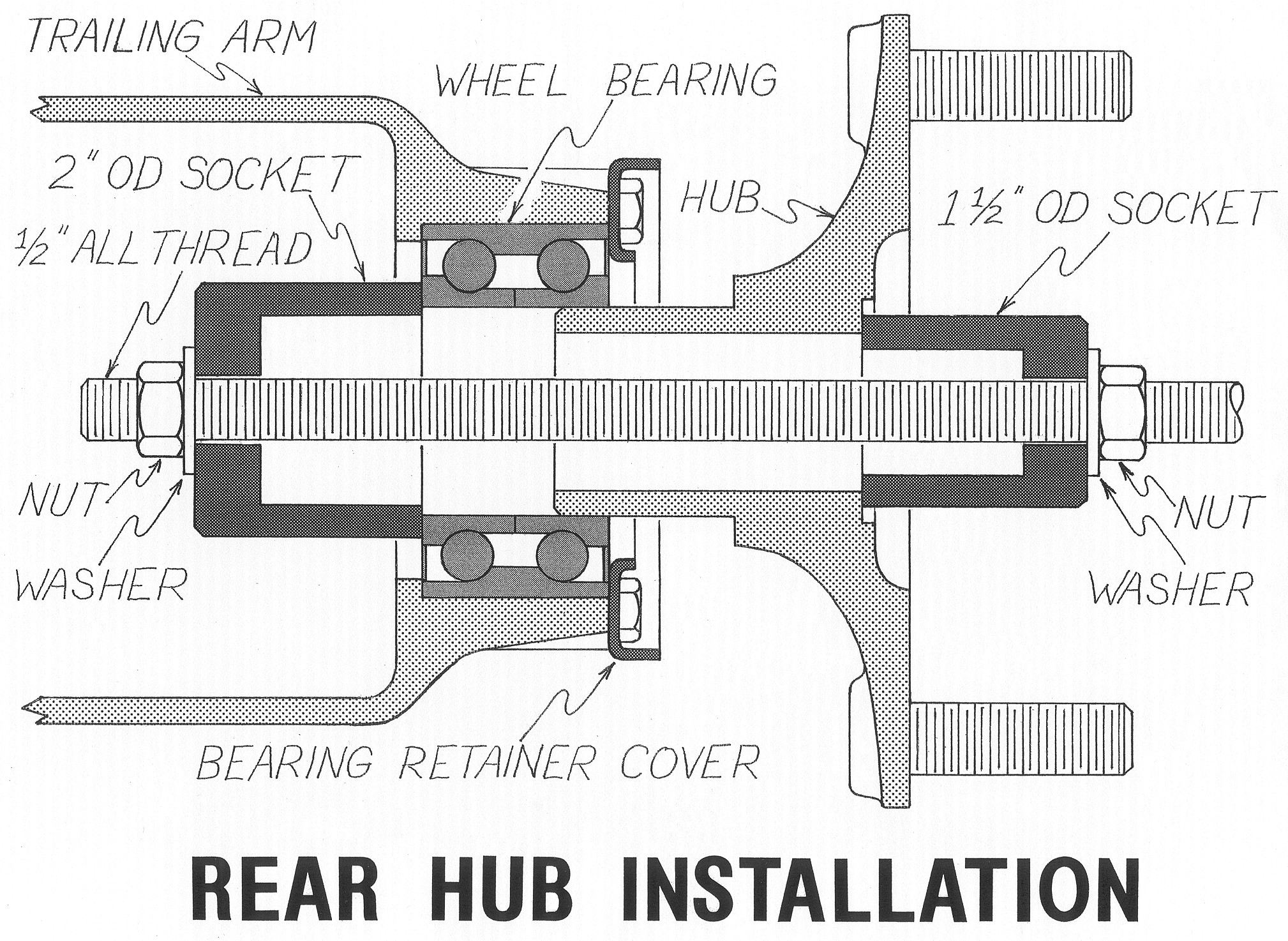 Porsche 914 Engine Dolly Diagram Wiring Library Pelican Technical Article Five Bolt Pattern Conversion 1