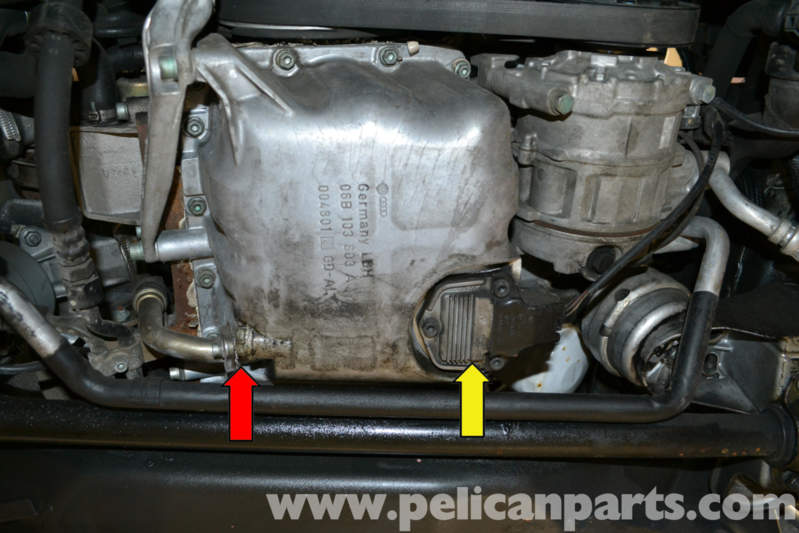 Audi A4 B6 Oil Level Sensor Replacement 2002 2008