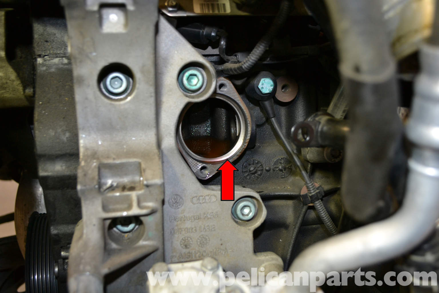 Audi A4 B6 Thermostat Replacement 2002 2008 Pelican