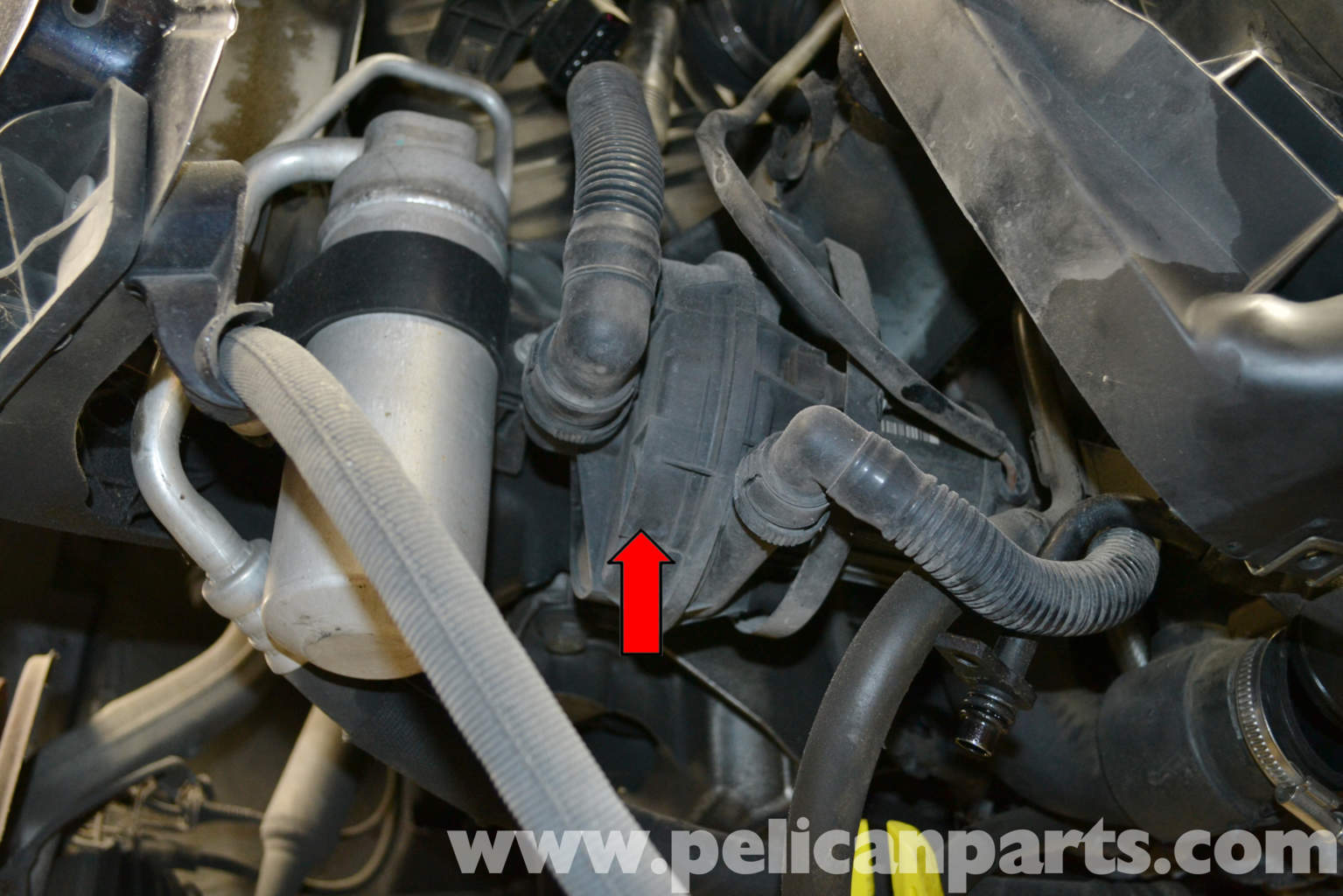 Pic on Audi A4 Vacuum System