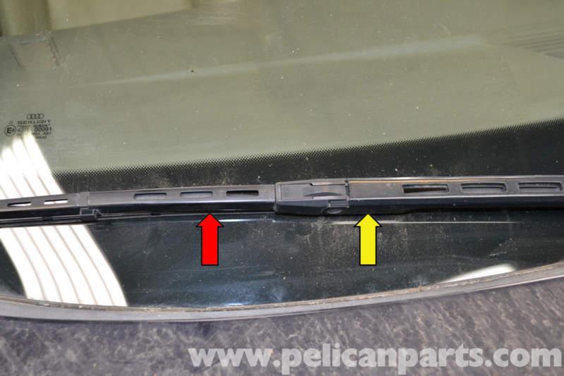 Audi A4 B6 Wiper Blade Replacement (2002-2008) | Pelican Parts DIY Maintenance Article