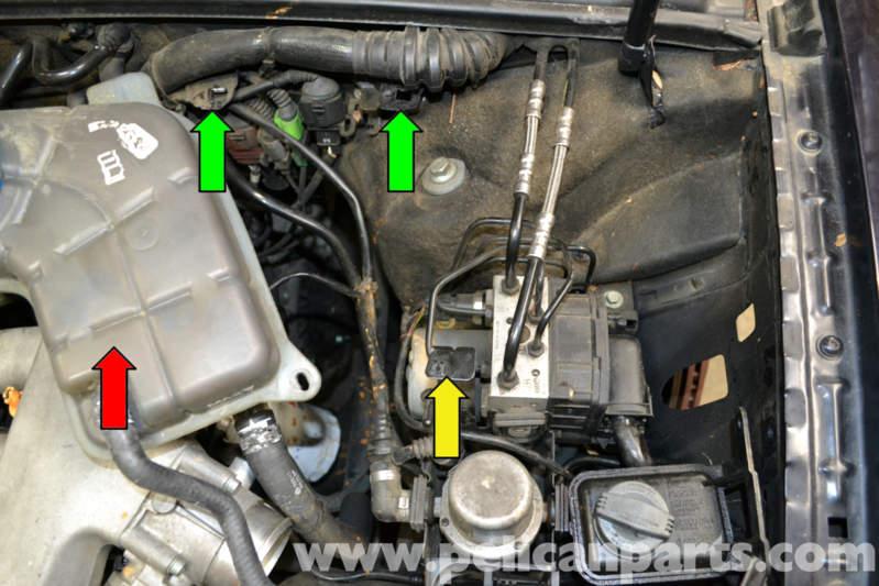 Audi A4 B6 Brake Pressure Sensor Replacement (2002-2008) | Pelican Parts DIY Maintenance Article