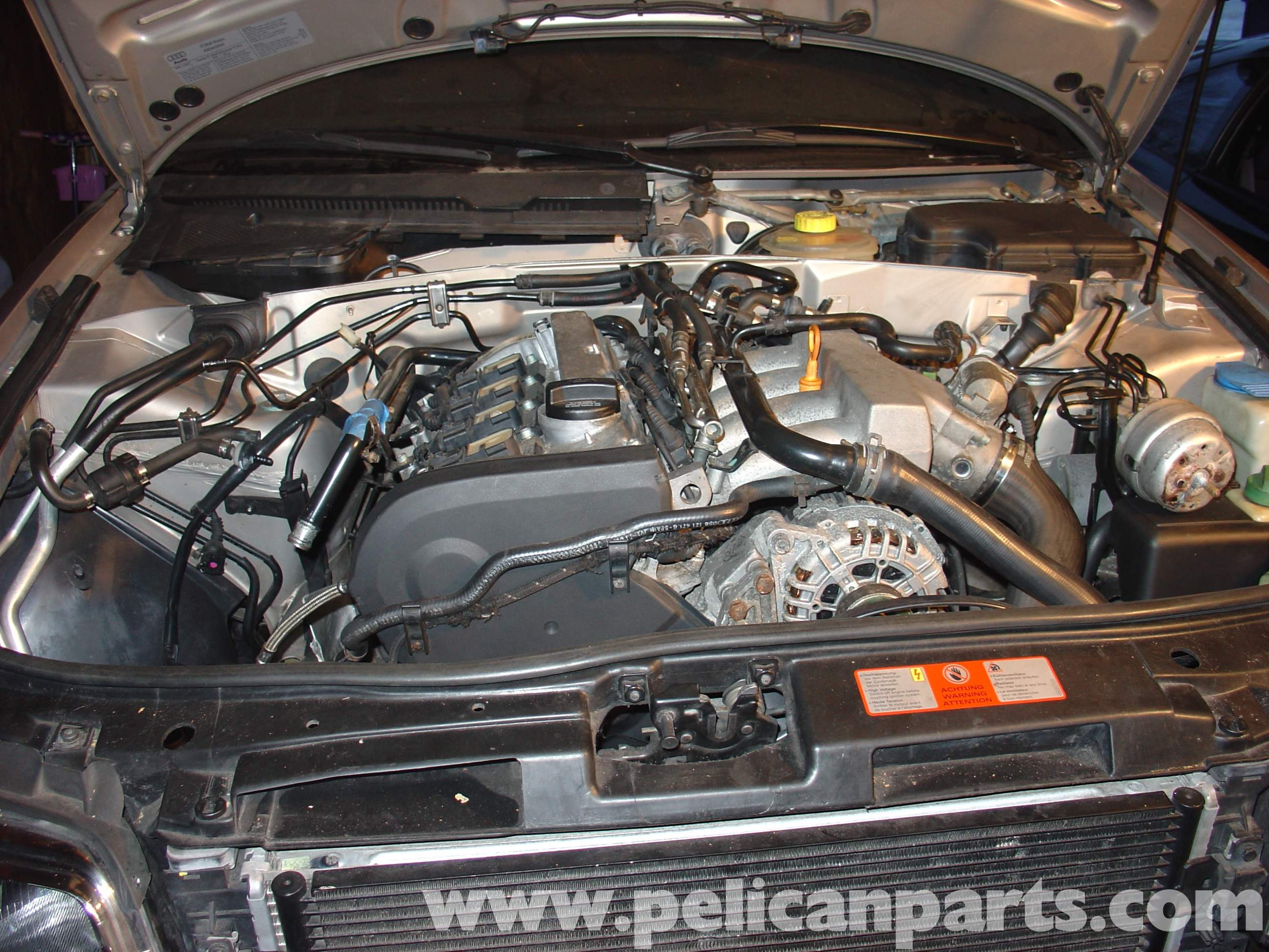 Audi B5a4 18t Transmission Multifunction Switch Replacement Writeup