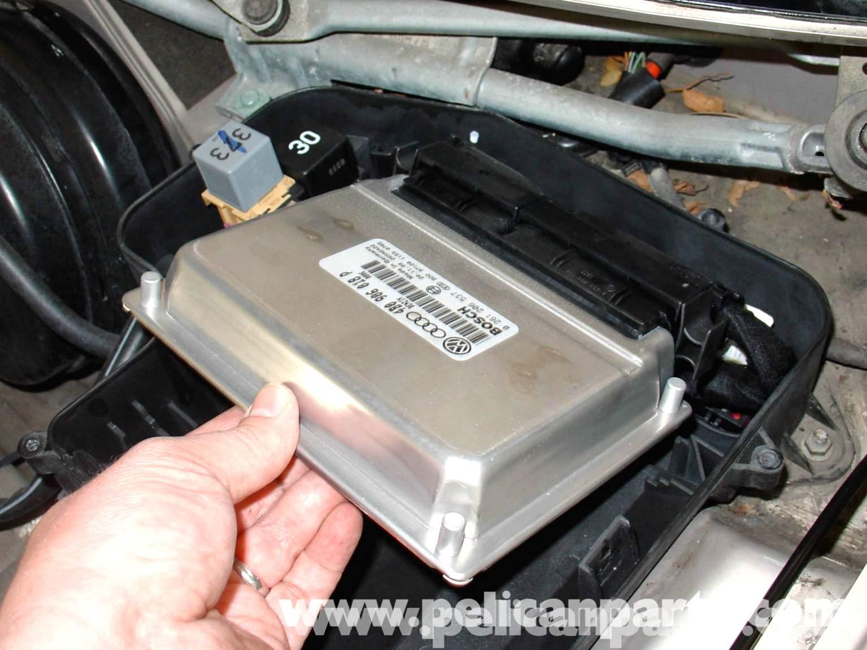 Audi A4 1 8t Volkswagen Ecu Replacement