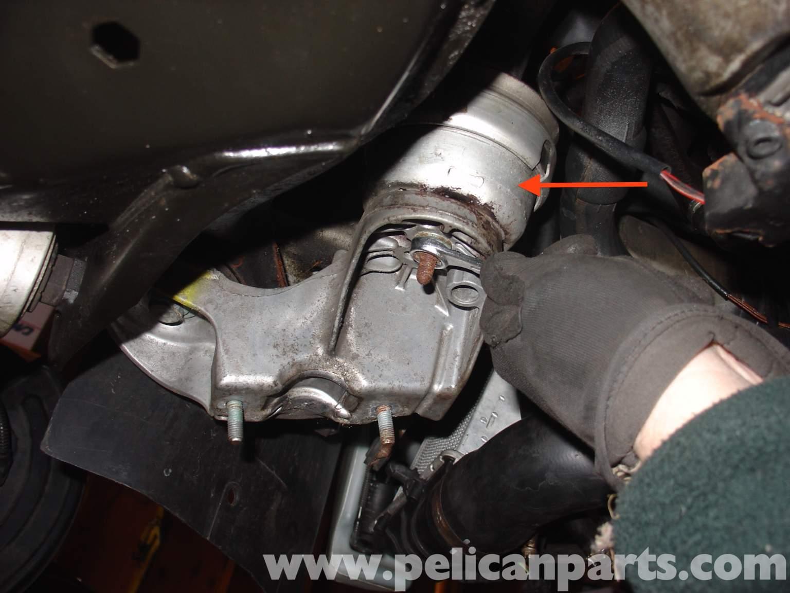 Audi A4 Quattro B5 Engine Mount Replacement (1.8T 1997-2001) | Pelican Parts DIY Maintenance Article