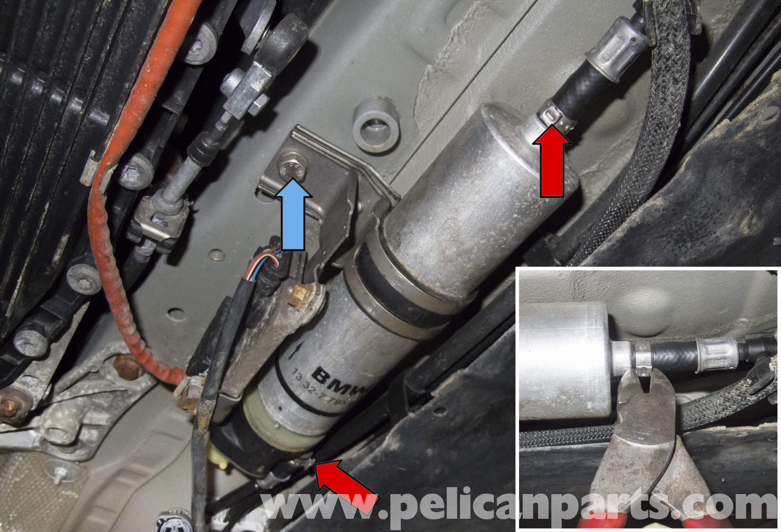 Pelican Technical Article Bmw E90 Diesel Engine Fuel Filter