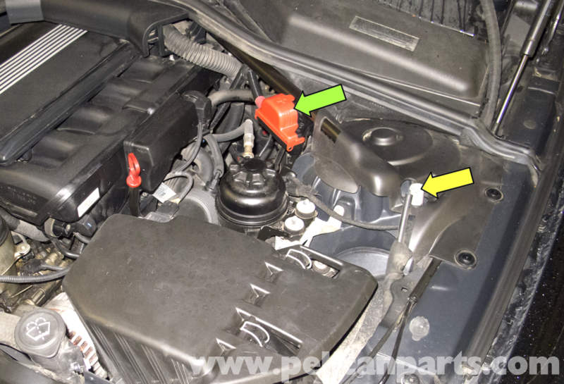 e350 battery location