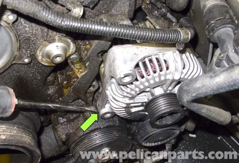 ford e250 belt diagram bmw e60 5-series n62 8-cylinder alternator replacement ... n62 belt diagram