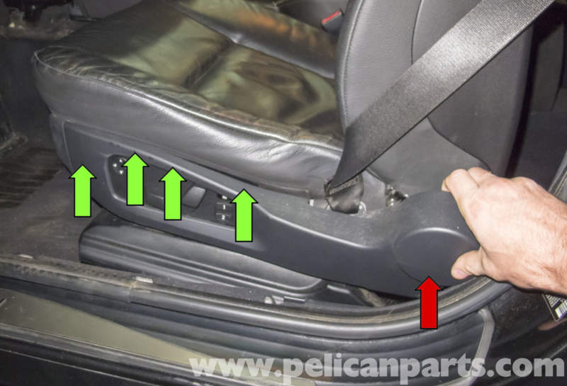 Bmw E60 5 Series Seat Switch Testing And Replacement 2003 2010 Pelican Parts Technical Article