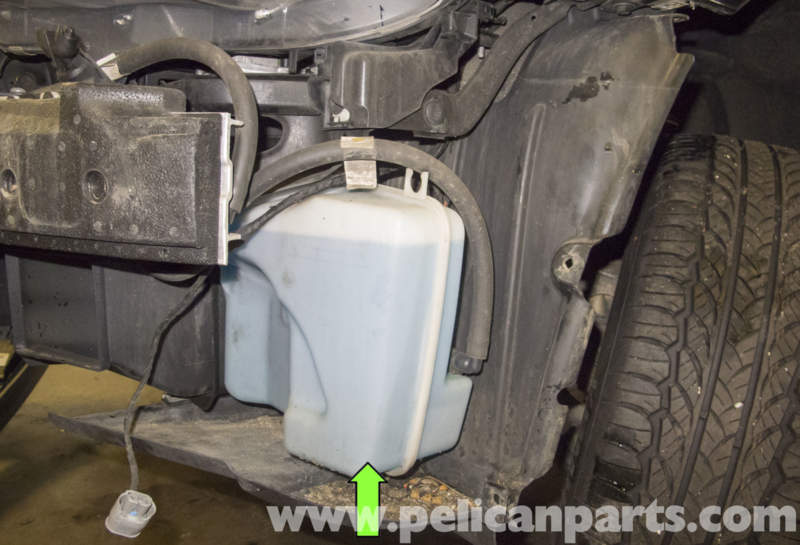 Bmw E60 5 Series Washer Pump Testing And Replacing 2003