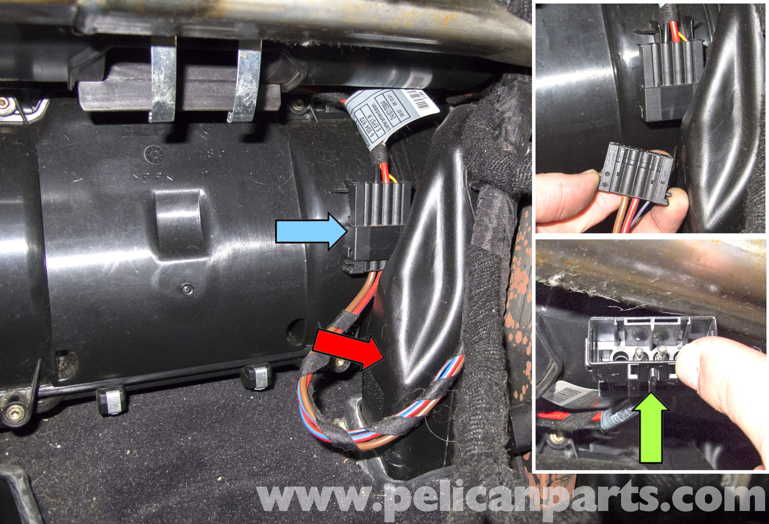 Bmw E60 5 Series Hvac Stepper Motor Replacement 2003 2010