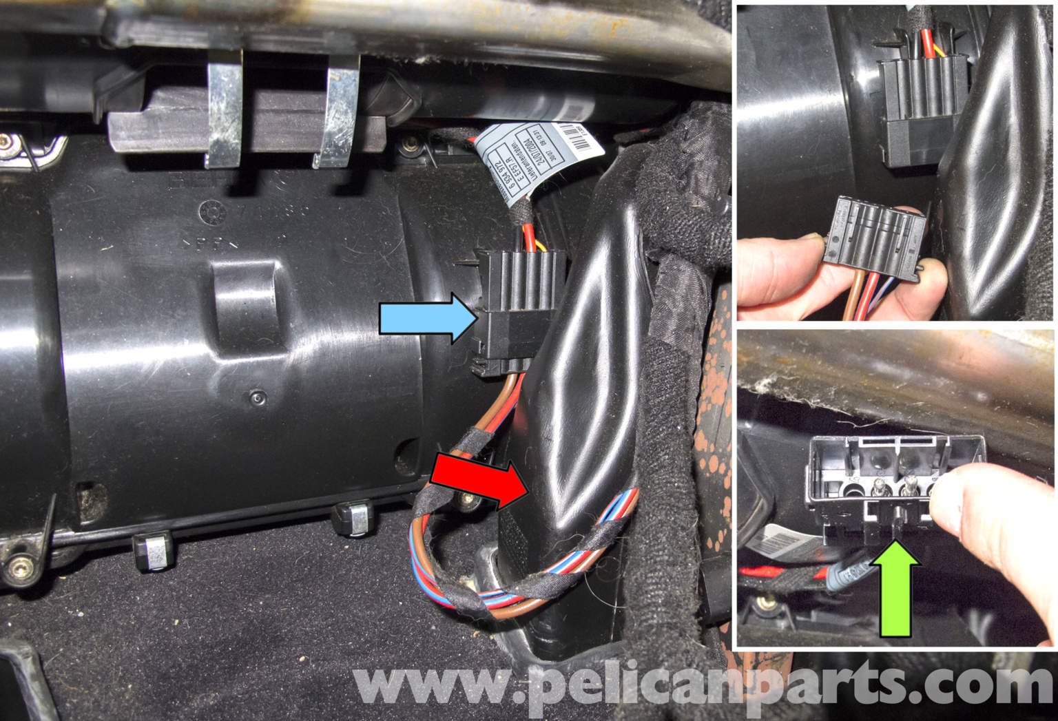 #905F3B BMW E60 5 Series HVAC Stepper Motor Replacement (2003 2010  Best 4403 Hvac Duct Pullers photos with 1536x1047 px on helpvideos.info - Air Conditioners, Air Coolers and more