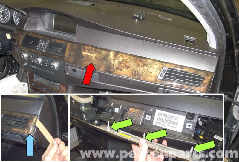 Bmw E60 5 Series Radio Ihka Panel And Seat Heat Controls