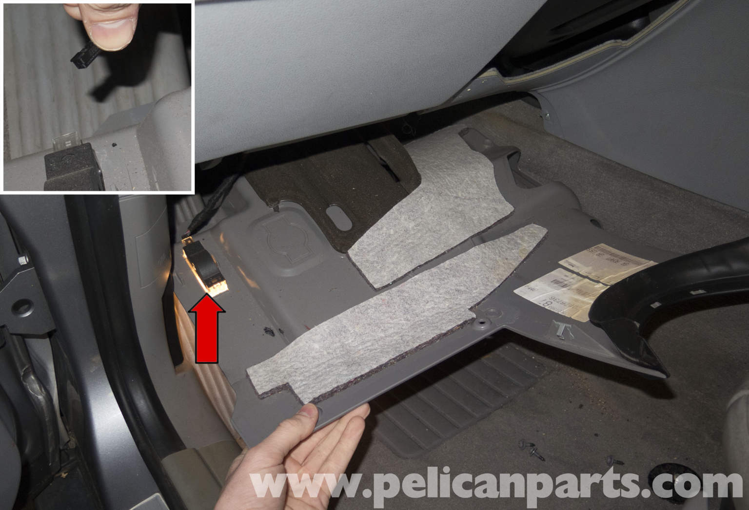 Pelican Technical Article Bmw X3 Left Lower Instrument Panel Trim Replacement