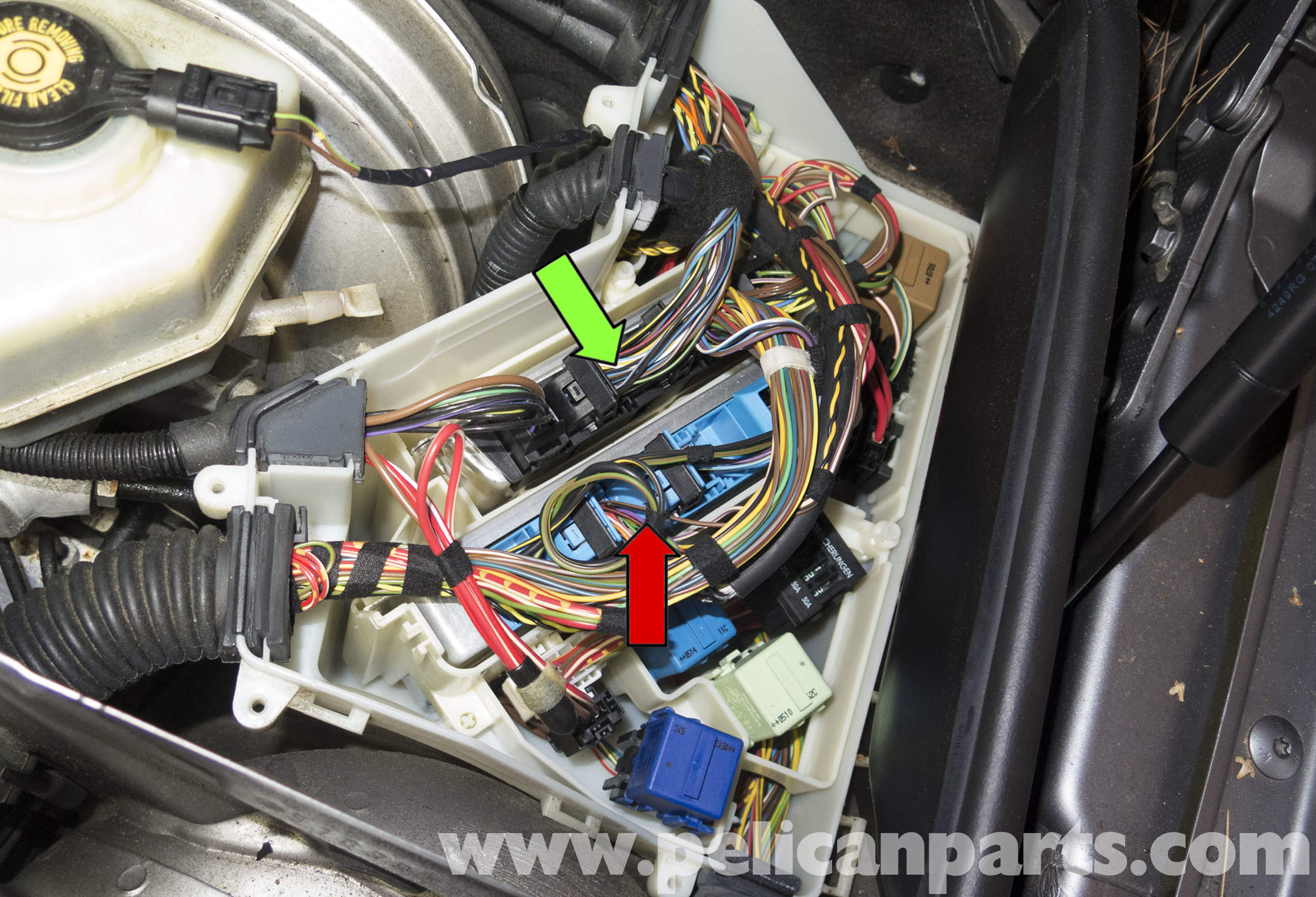 Bmw X5 E53 Fuse Diagrambmw E 2011 Box Diagram 1 Series Bmwcase E39 Fsu Wiring Pelican Technical Article X3 Dme Engine Control Module Relay And Main Replacing