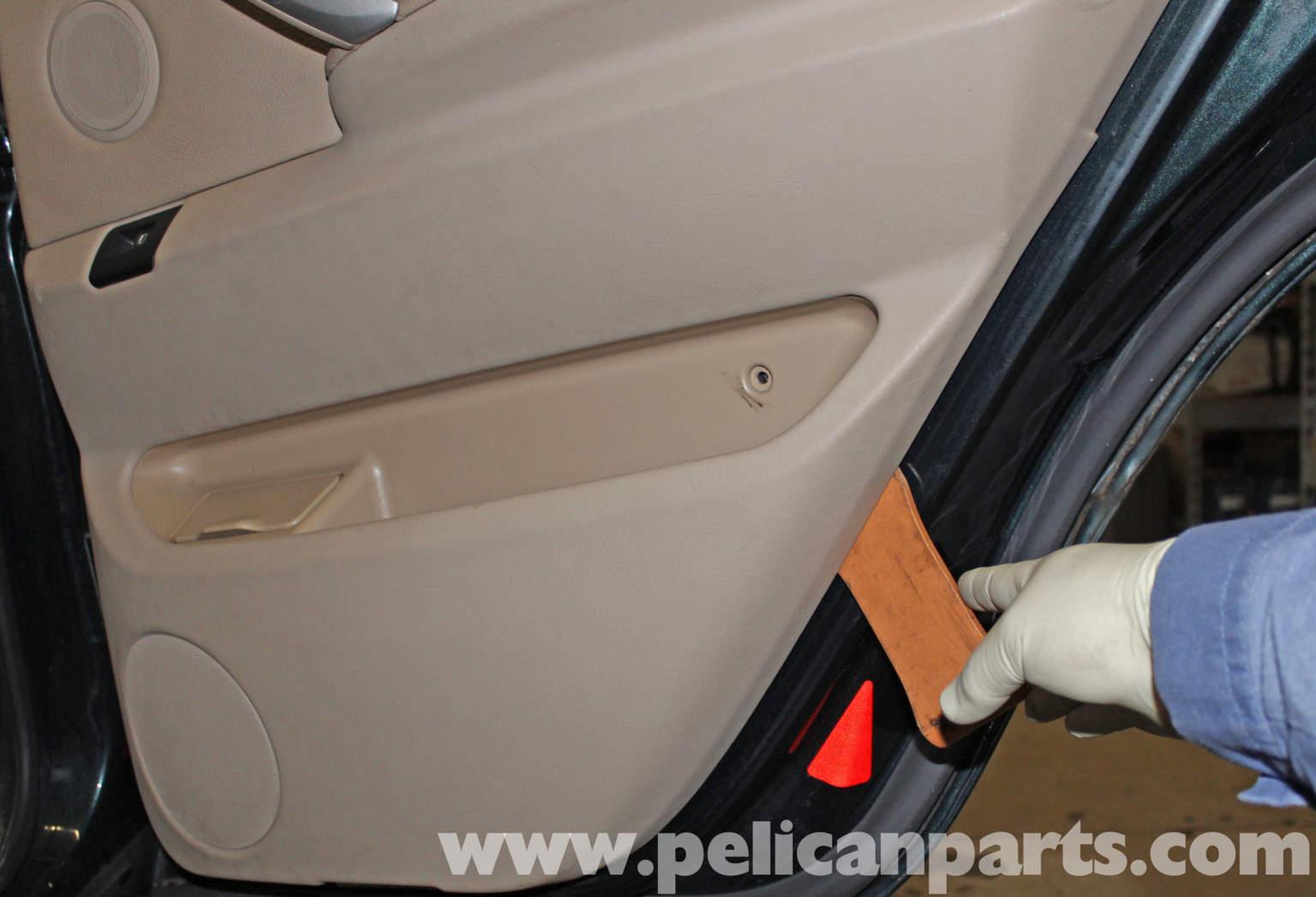 pelican technical article bmw x5 rear door panel replacement. Black Bedroom Furniture Sets. Home Design Ideas