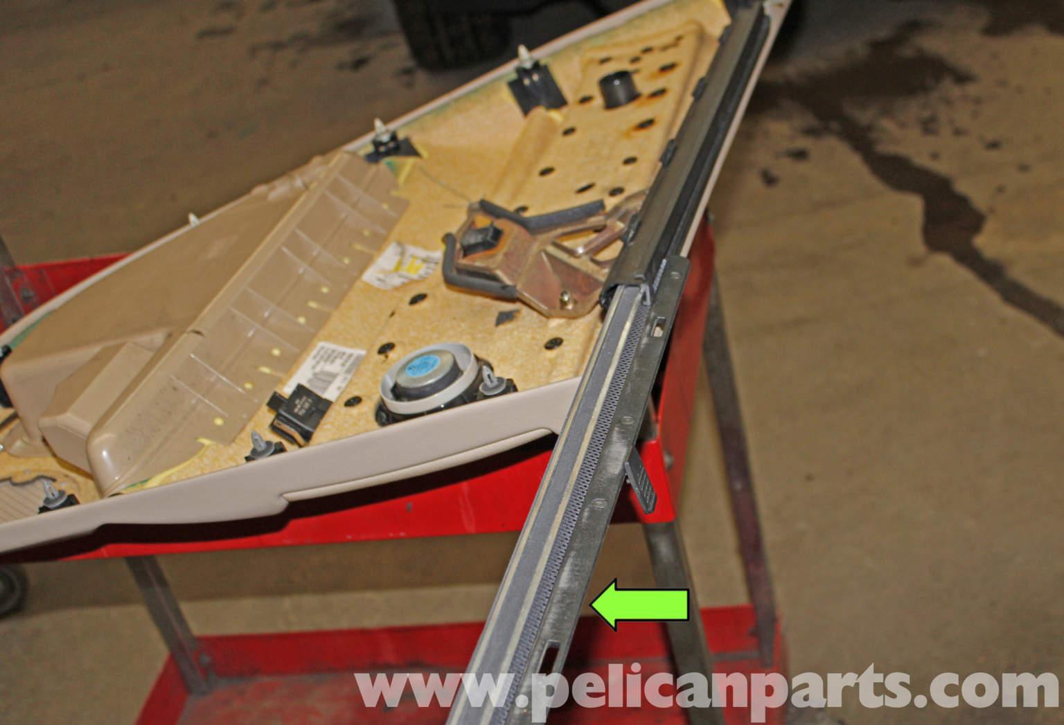 Pelican Technical Article Bmw X5 Rear Door Panel Replacement