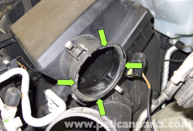 Bmw X5 M62 8 Cylinder Mass Air Flow Maf Sensor