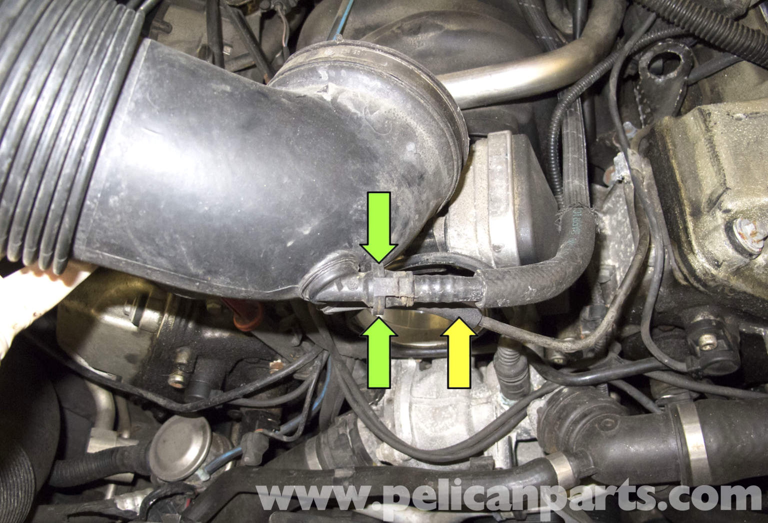 Bmw X5 M62 8 Cylinder Power Steering Pump Replacement E53