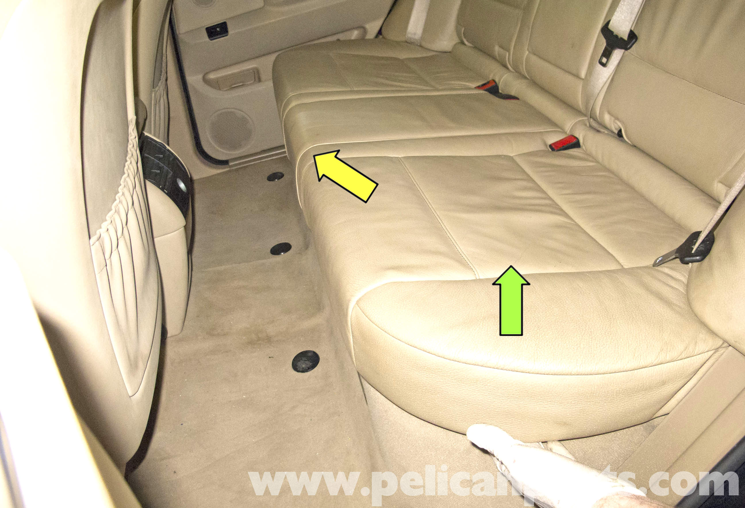 Bmw X5 Seat Replacement E53 2000 2006 Pelican Parts Diy Maintenance Article